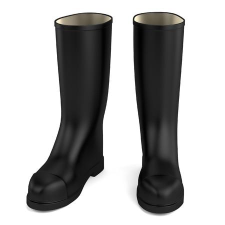gum: realistic 3d render of gum boots