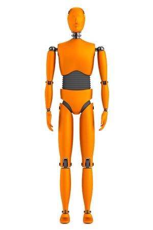 figourine: realistic 3d render of dummy