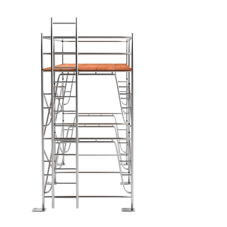 realistic 3d render of scaffolding photo