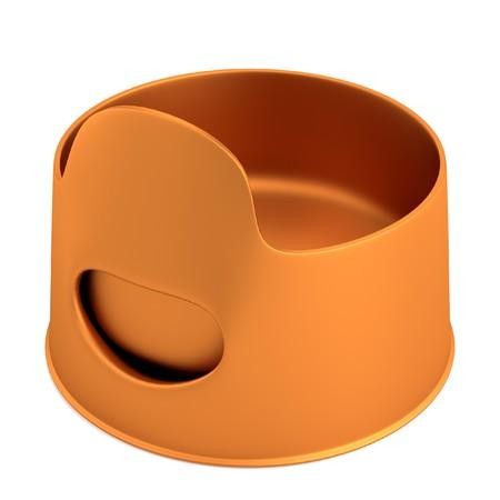 chamber pot: realistic 3d render of pisspot