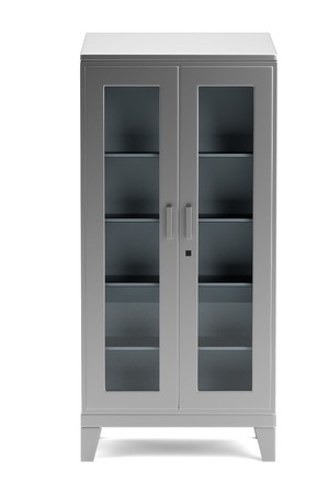 realistic 3d render of medical cabinet Stock Photo