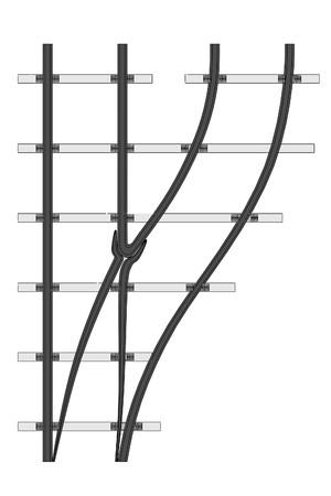 railway transport: cartoon image of railway (transport)