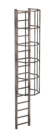 chimney: 3d render of chimney ladder