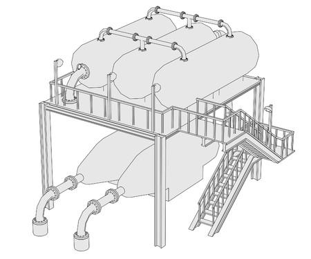 toons: cartoon image of alkylation unit