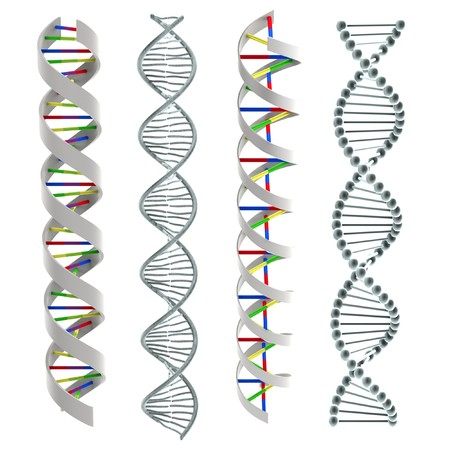 cytosine: 3d render of Dna Helixes