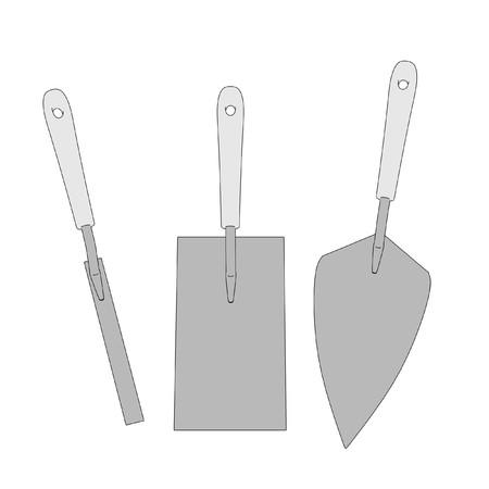 constrution site: v2d cartoon image of mansory tools