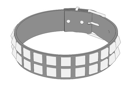 punk: cartoon image of punk necklace