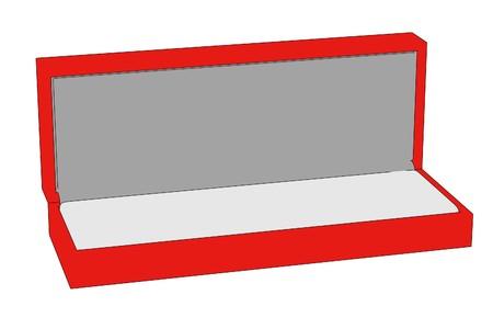 jewelry box: cartoon image of jewelry box
