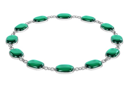 bracelet: cartoon image of bracelet (jewel) Stock Photo