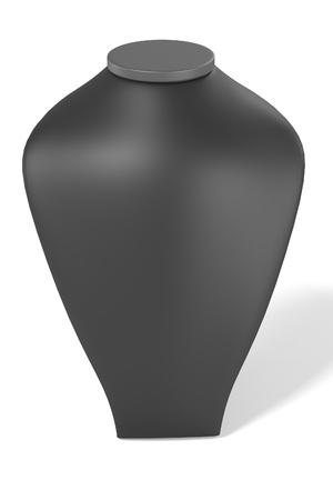 dummy: 3d render of dummy for necklace