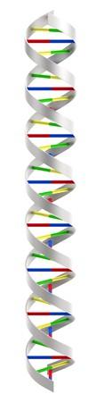 cytosine: 3d render of Dna Helix