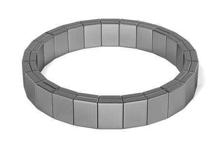 3d render of bracelet (jewelry)