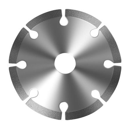 power tool: 3d render of power tool disc