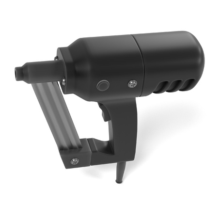 power tool: 3d render of power tool Stock Photo