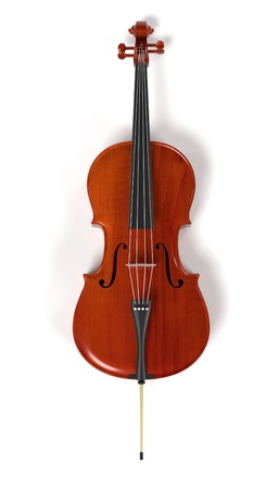 cellos: 3d rendering of cello musical instrument Stock Photo