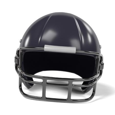 renderings: 3d renderings of football helmet Stock Photo