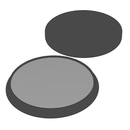suppliers: 2d cartoon illustration of cosmetics (shades)