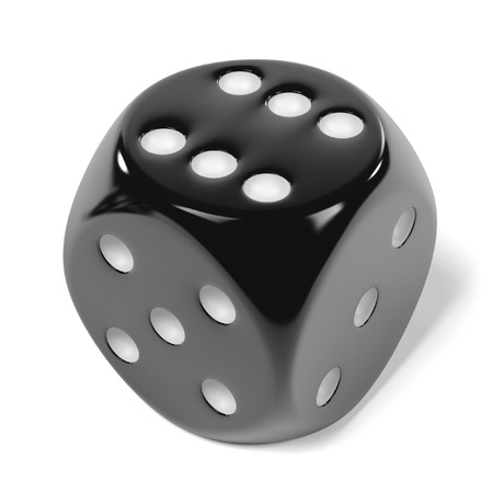 dices: 3d rendering of playing dices Stock Photo