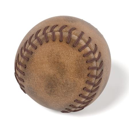 hard cap: 3d rendering of baseball ball