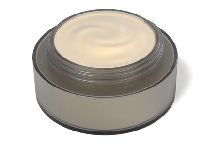 creme: 3d rendering of creme box