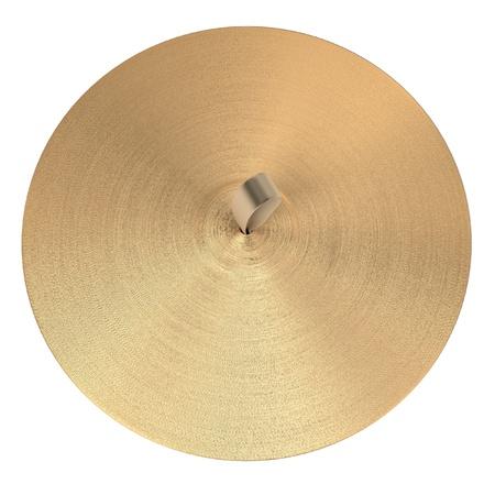 ensemble: 3d rendering of cymbals (musical insturment)