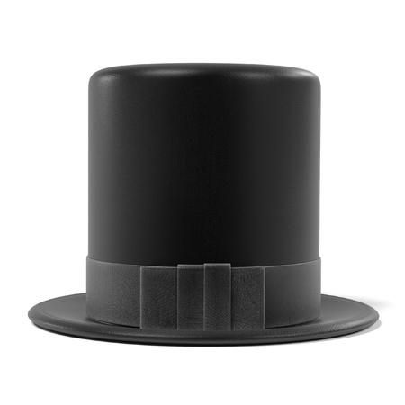3d renderings of top hat Stock Photo