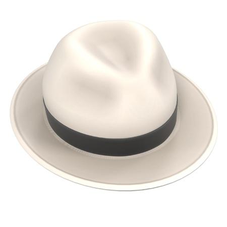 renderings: 3d renderings of panama hat Stock Photo