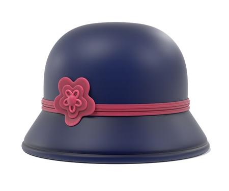 3d renderings of cloche hat