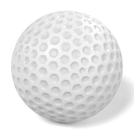 renderings: 3d renderings of golf ball Stock Photo