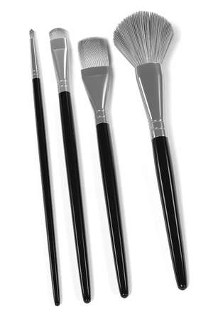 suppliers: 3d rendering of cosmetic brushes