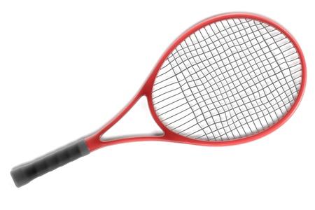 renderings: 3d renderings of tennis racket Stock Photo