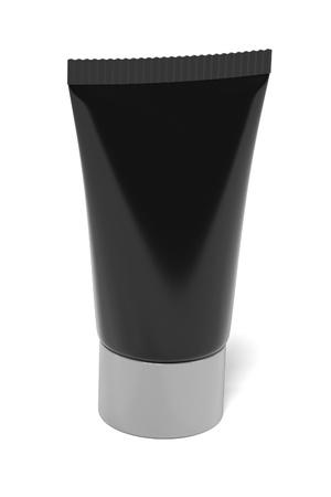 renderings: 3d renderings of makeup tube Stock Photo