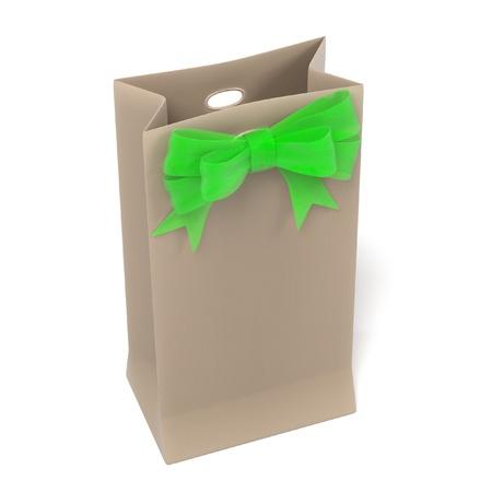 renderings: 3d renderings of gift bag