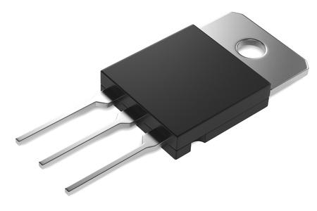 3d rendering of transistor part Reklamní fotografie