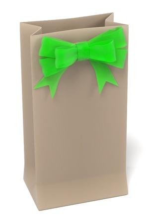 gift bag: 3d renderings of gift bag