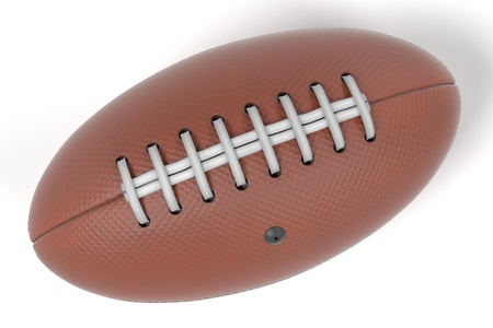 olympic game: 3d renderings of football ball