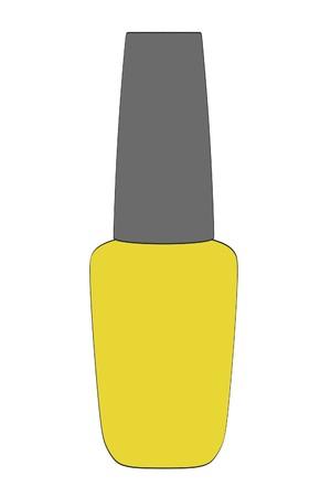 suppliers: 2d cartoon illustration of nail polish