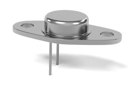 transitor: Las 3D de una parte del transistor