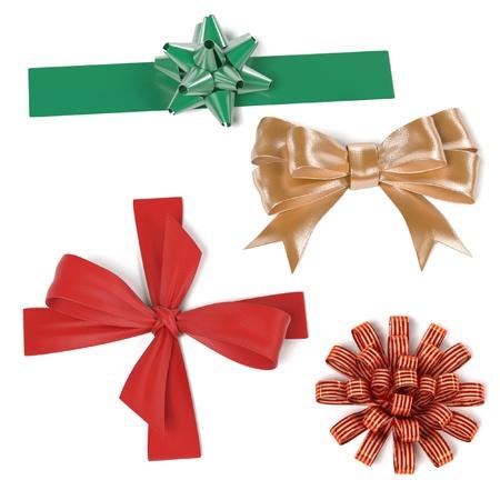 renderings: 3d renderings of decorative ribbons