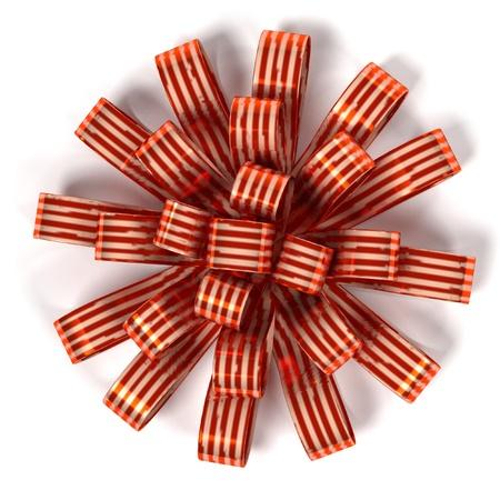renderings: 3d renderings of decorative ribbon