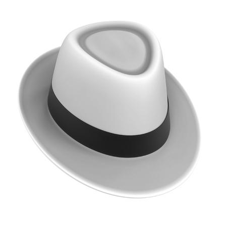 renderings: 3d renderings of fedora hat