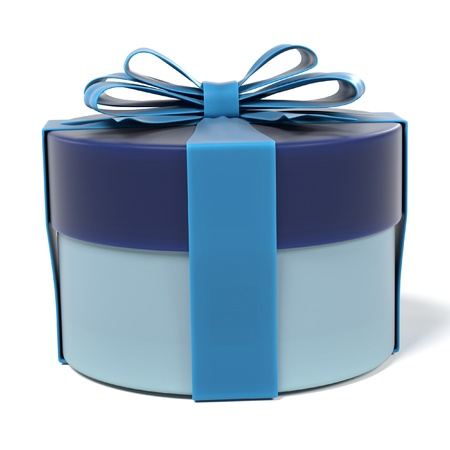 gift bags: 3d renderings of gift with ribbon