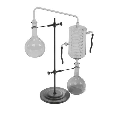 Rendus 3D de l'outil d'alchimie Banque d'images - 55783006