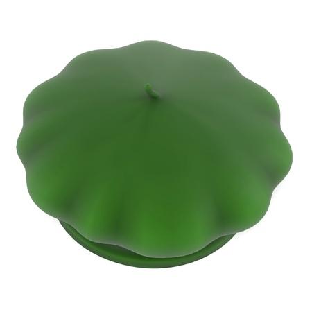 beret: 3d renderings of beret hat Stock Photo