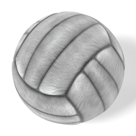 olympic game: 3d rendering of volleyball ball