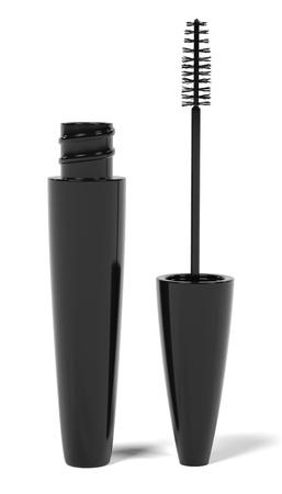 renderings: 3d renderings of mascara makeup