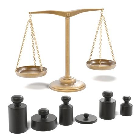 Rendus 3D des échelles d'alchimie Banque d'images - 55822389