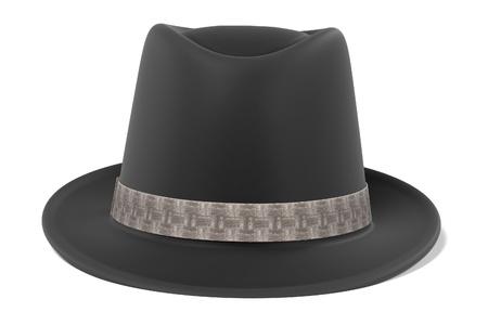 3d renderings of fedora hat