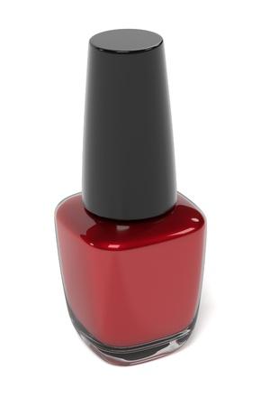 renderings: 3d renderings of nail polish