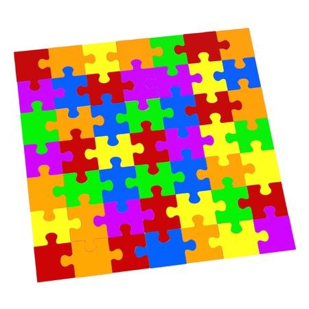 renderings: 3d renderings of puzzle pieces